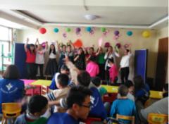 临沂市兰山区爱童康复中心专注特殊儿童教育事业