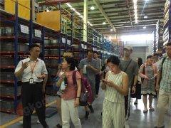 产品服务一体化 20余家媒体到访魏德米勒亚太物流中心