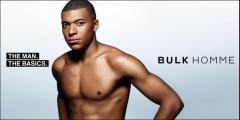 次世代 No.1 的足球选手基利安・姆巴佩出任 BULKHOMME 品牌代言人